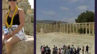 preview picture of video 'Reis Jordanië/Egypte deel 2.Golan Hoogte/Jerash/Dode Zee'