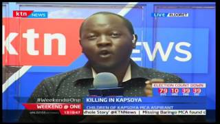 Children of the Kapsoya MCA aspirant may have been killed in a family feud over an ancestral land