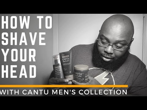 HOW TO:  Shave Your Head: Cantu Men's Collection