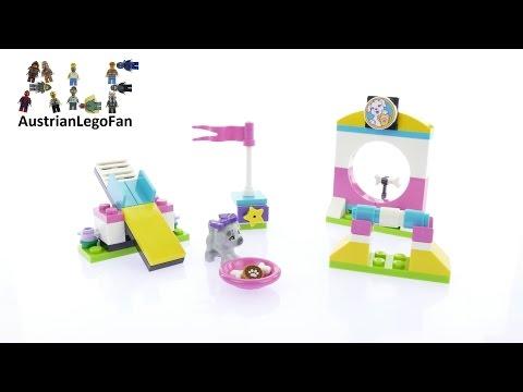 Vidéo LEGO Friends 41303 : L'aire de jeux des chiots