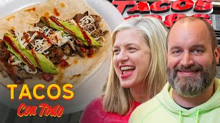 Tom Segura and Christina P Roast Each Other While Eating Tacos | Tacos Con Todo
