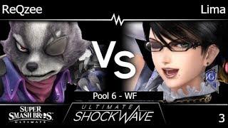 USW 3 - NF | ReQzee (Wolf) vs Lima (Bayonetta) Pool 6 - WF - SSBU