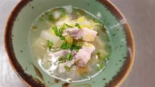 宝塚受験生の夏バテ対策レシピ〜白菜と塩豚の土鍋スープ〜のサムネイル