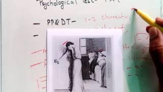 12. SSB Psychological Test- TAT