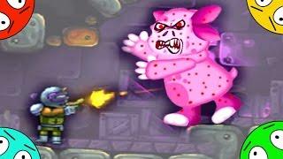 🐾 Охота получай зомби Лунтика #1! Приземление бери опасную планету! Мультик Игра. Мультфильм ради детей.