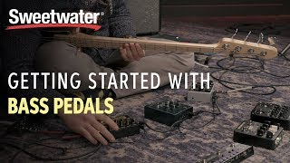Getting Started With Bass Pedals