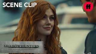 Shadowhunters | Season 2, Episode 19: Clary Asks Simon For A Favor | Freeform