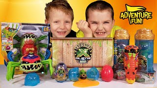 Treasure X Aliens Spider, Alien Hunters and Alien Eggs Ultimate Unboxing! Adventure Fun Toy review!