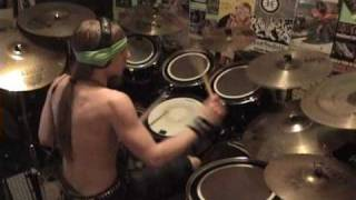 """Manannan"" by Absu Drum Cover (2010)"