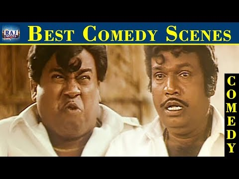 Best Comedy Scenes | Goundamani | Senthil | Vadivelu | Tamil Comedy Collections | Raj Movies