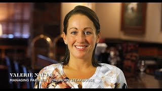 LongHorn Steakhouse employee testimonial video: Valerie Nauer
