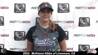 2022 McKenna Kibbe Catcher Softball Skills Video - Eastbay Fastpitch