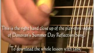 Donovan Summer Day Reflection Song (lesson preview)