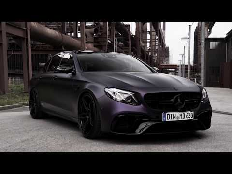 Mercedes E63 AMG - BLACK WHEELS