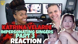 KATRINA VELARDE   IMPERSONATING SINGERS 3 | BURN | REACTION