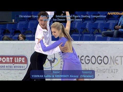 UO2013 YERMAK Lolita & SHUMSKIY Alexey (UKR) Senior Ice Dance SD (EРМАК Лолита, ШУМСКИЙ Алексей)