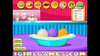 Chocolate Vanilla Ice Cream Cooking Games For Little Kids Kizi