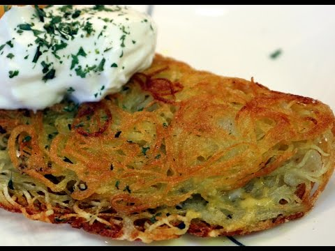 10 minute easy potato rosti recipe with Chef Cristian Feher | Food Chain TV