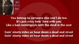 John Berry - Ninety Miles An Hour ( + lyrics 1990)