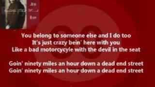 John Berry - Ninety Miles An Hour ( + lyrics 1990)