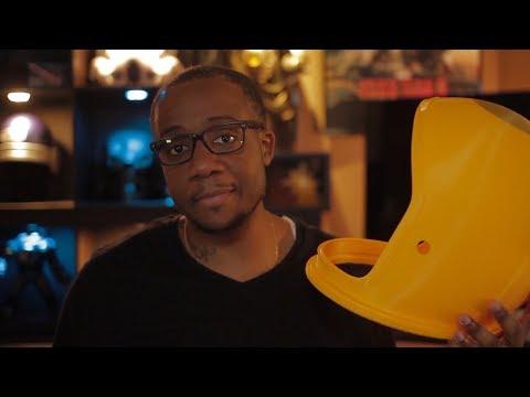 3D-Printing a NASA ACES Helmet for Adam Savage!