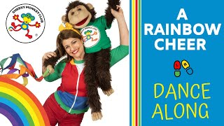 Dance-a-long | A Rainbow Cheer | Cheeky Monkey Club