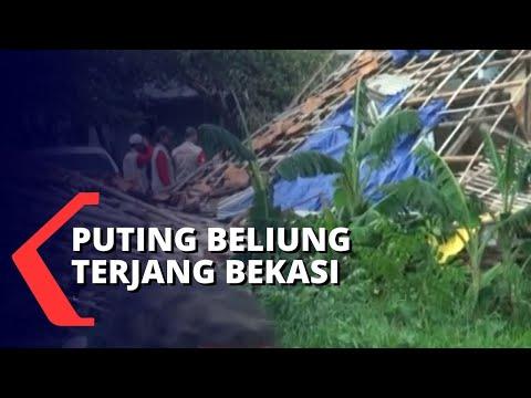 puting beliung rusak ratusan rumah warga di bekasi pemkot bahas penanganan