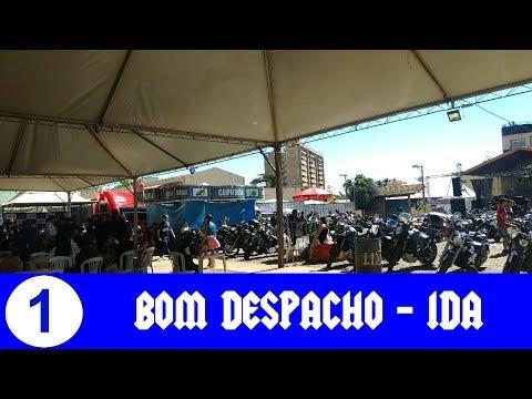 Viagem BH - Bom Despacho de Moto - Ida