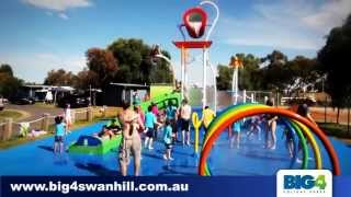 preview picture of video 'BIG4 Swan Hill Splash Park'