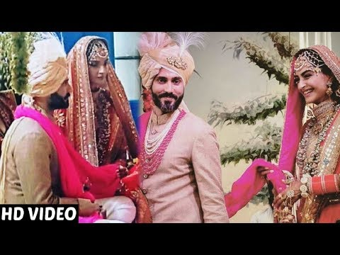 Download Sonam Kapoor And Anand Ahuja Marriage | FULL HD Event HD Video