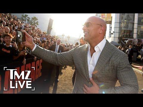 The Rock: Ready To Booze! | TMZ Live