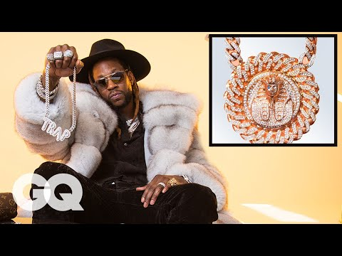 Download 2 Chainz Shows Off His Insane Jewelry Collection | GQ HD Mp4 3GP Video and MP3