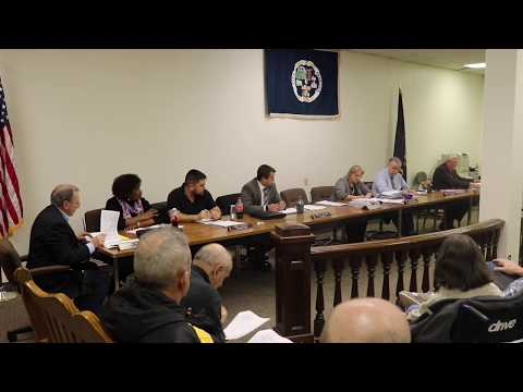 Monessen City Council Meeting 1/24/2019