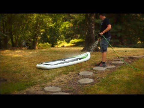 Quick Tips: Inflatable SUP Board Cleaning and Care