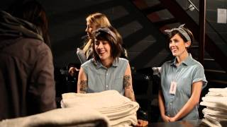 Morgan Page feat. Tegan and Sara - Body Work [Behind the Scenes]