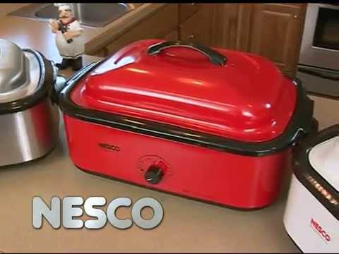 American Harvest Red 18 Quart Roaster Oven video thumbnail