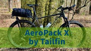 Test  - Tailfin AeroPack X Rigid Seat Pack -  Gepäckträger und Satteltasche fürs Bikepacking