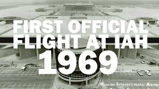 50 years of IAH: Take a look at the Houston airport in 1969