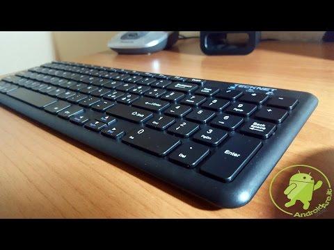 Recensione Tastiera e mouse Wireless Tecknet di Androidare