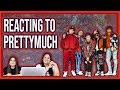 REACTING TO: PRETTYMUCH GONE 2 LONG | AUDIO, CHOIR VERSION, AND EW VERSION