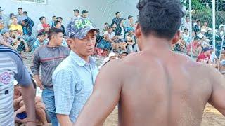 [Live] បាល់ទះកម្ពុជា ប៉ះវៀតណាម International Volleyball Cambodia 4 Vs 4 Vietnam (Set3) 7 Jan 2019