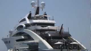 preview picture of video 'President@Agent4stars.com | ACE super yacht in Marbella PRESS SHARE'