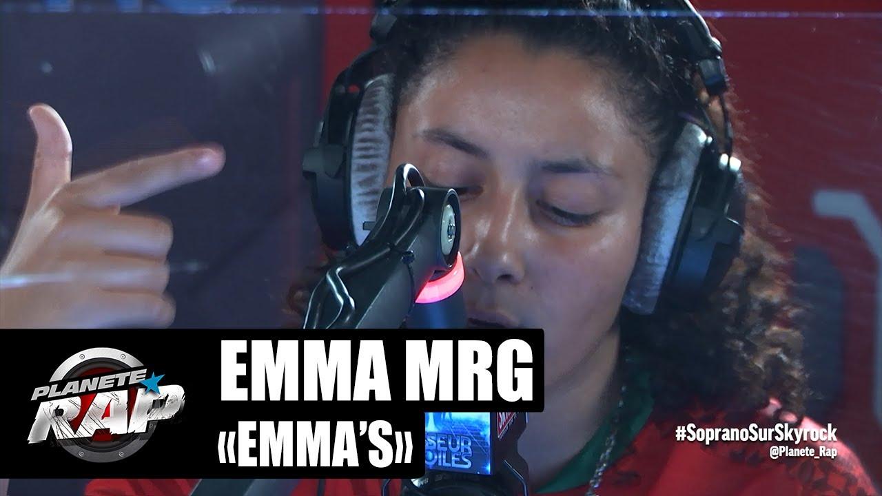 15 ANS seulement et déjà BOUILLANTE au micro de #PlanèteRap (Emma_.mrg «Emma's»)