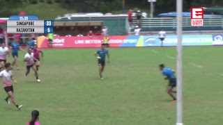 LIVE!! Asia Rugby Sevens Trophy 2018 DAY 2 SESSION 3 Live Queenstown Stadium