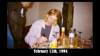 Kurt Cobain 1994 January To April Picture Timeline