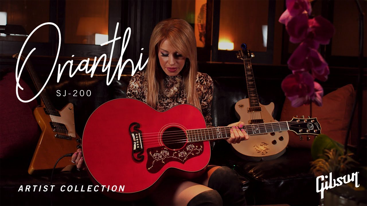 NAMM 2021: Orianthi Gibson SJ-200 Signature Acoustic