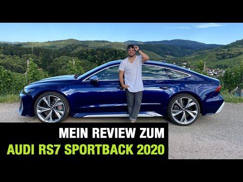2020 Audi RS 7 Sportback (600 PS) Fahrbericht   Review   Test   Launch Control   0-100 km/h   Sound