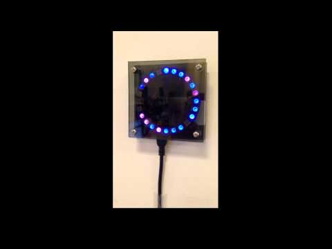 Build A DIY Ambient Weather Indicator With An Adafruit Neopixel Ring