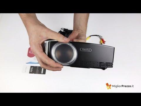 Proiettore portatile Yaufey GP80