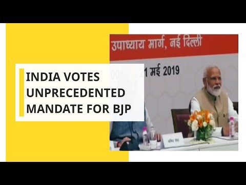 IEW: Historical mandate for BJP; Sweeps away whole opposition